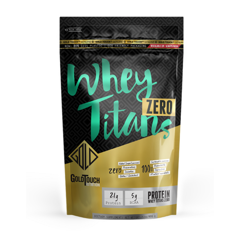 Whey Titans Zero (Bag -908g) Καθαρή Πρωτεΐνη - GoldTouch Nutrition